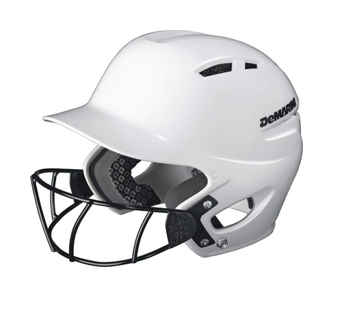 Demarini Paradox Protege Batting Helmet - White