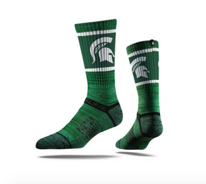 Strideline Crew Sock- Spartans
