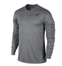 Nike Youth Legend L/S Tee- Grey