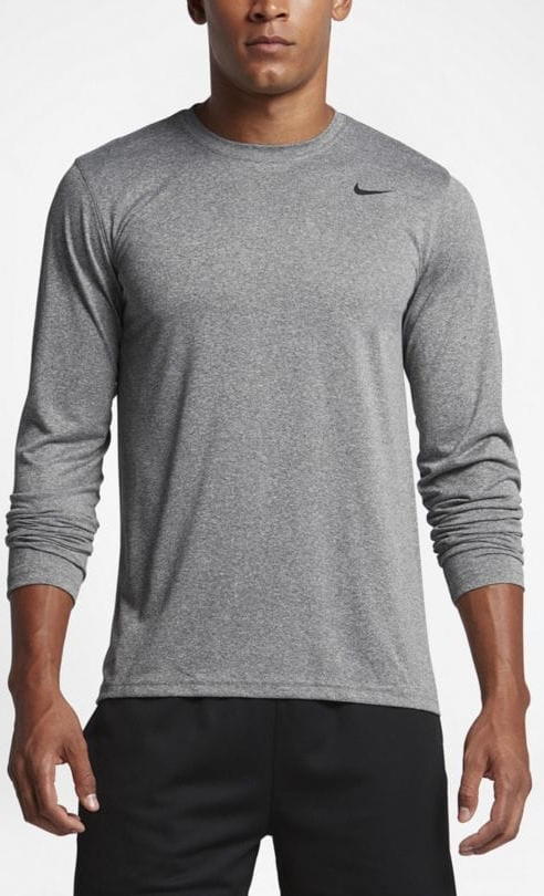 8d81c185208e Nike Youth Legend L S Tee- Grey – Mountain Brook Sporting Goods