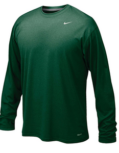 Nike Men's Legend L/S Tee- Green