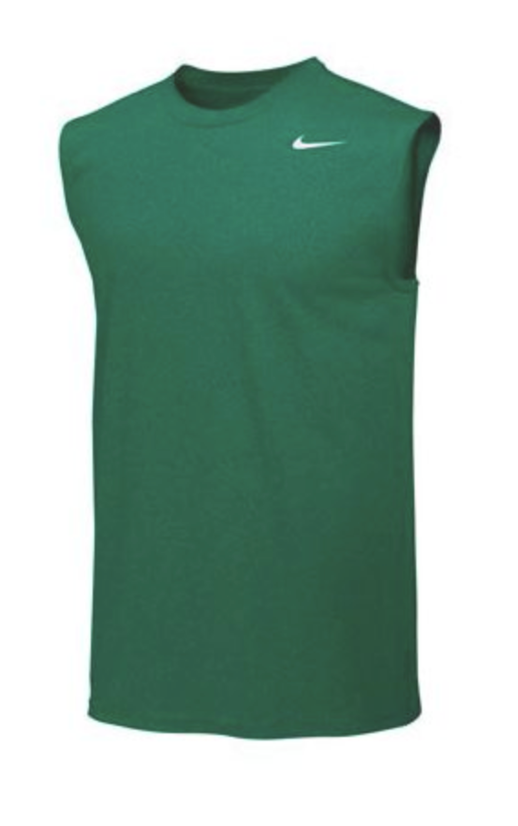 Nike Pro Cool Compression Sleeveless Top- Green