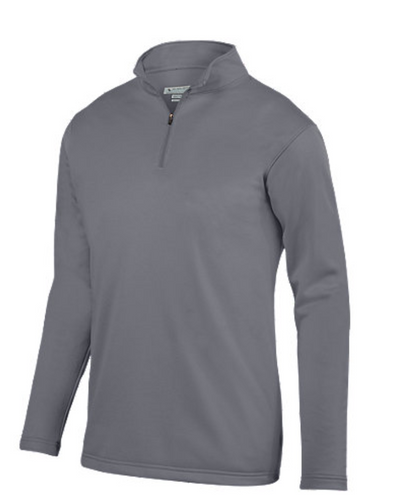 Augusta Quarter Zip Fleece - Gray