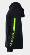 Under Amour Youth Waffle Hoody - Black/Volt