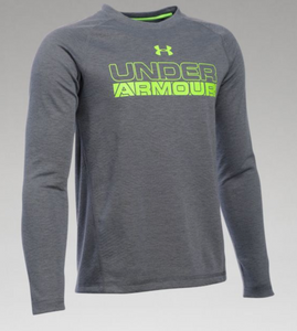 Under Armour Boy's Infared ColdGear Long Sleeve - Graphite/Volt