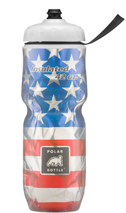 Polar Battle Big 42 Insulated Water Bottle - Stars & Stripes