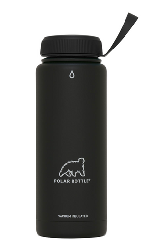 Polar Bottle Thermaluxe - Powder Black