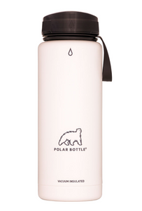 Polar Bottle Thermaluxe - Powder White