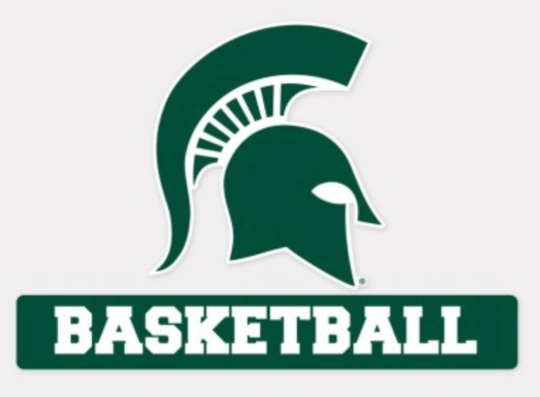 Spartan Basketball Vinyl Car/Window Decal