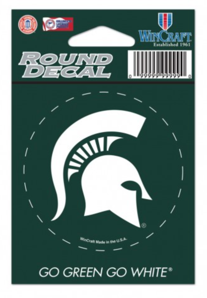 Spartans Round All-Purpose Decal