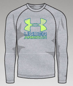 Under Armour Youth Hybrid Big Logo LS T