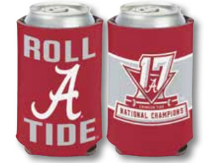 Alabama 2017 National Championship Coozie
