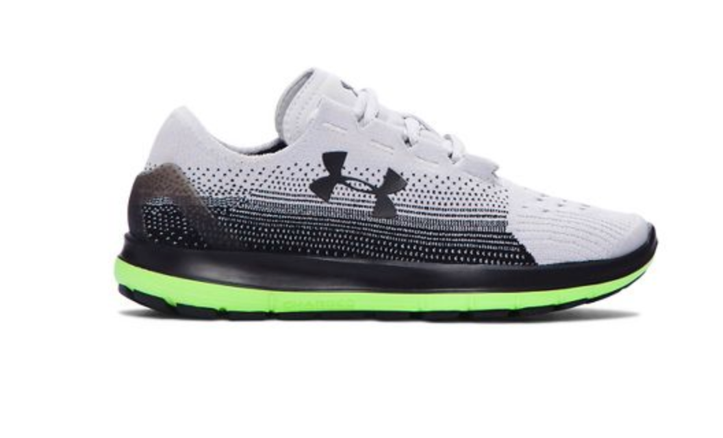 Under Armour Boys Speedform Slingride Shoe - Black/Lime