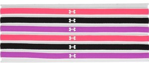 Under Armour Womens Mini Headbands - 6 Pack