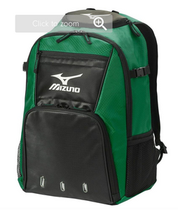 Mizuno Organizer G4 Backpack - Green