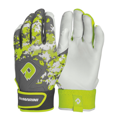 Demarini Youth Digi Camo II Batting Glove - Optic Green