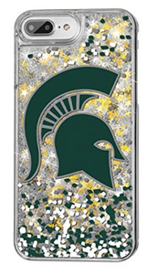 Spartans Gold Glitter iPhone Case