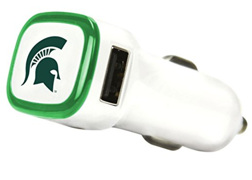 Quikvolt Dual USB Car Charger - Spartan Head