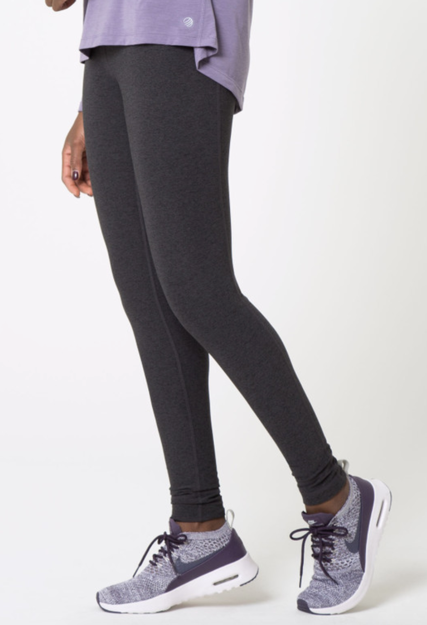 MPG Women's Signature Legging - Heather Charcoal