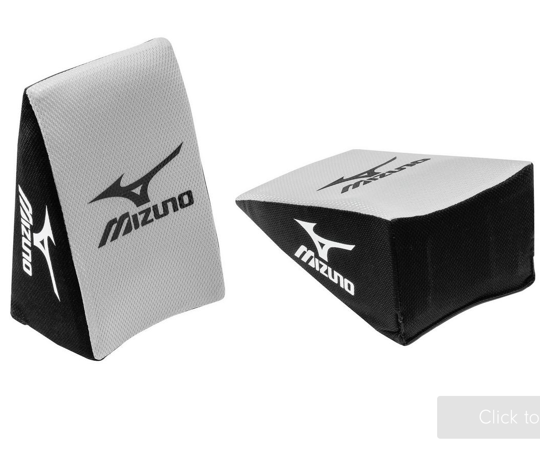 Mizuno Baseball Catcher's Knee Wedge - Black