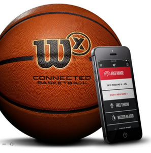 Wilson X Connected Basketball-Bluetooth
