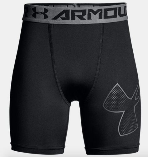 UA HeatGear® Armour Youth Mid Compression Short
