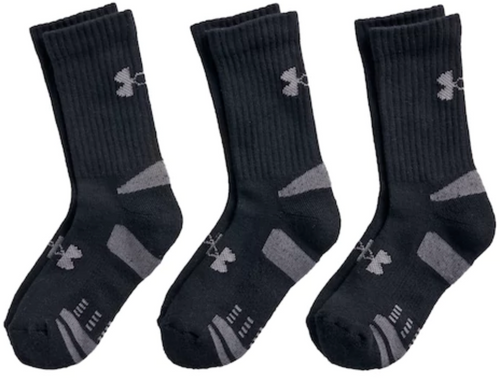 Youth UA Heatgear Crew Sock