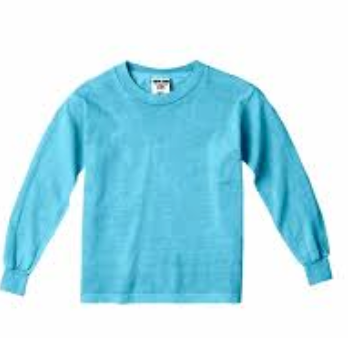 Comfort colors YOUTH L/S BLANK tshirt