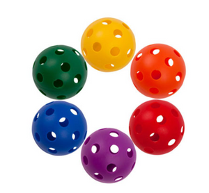 Plastic Baseball - individual, assorted