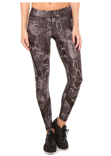 HPE X Leggings Black Snake