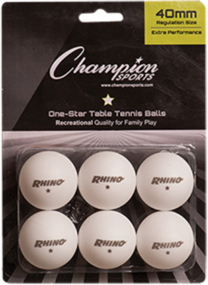 Champion TableTennis Balls
