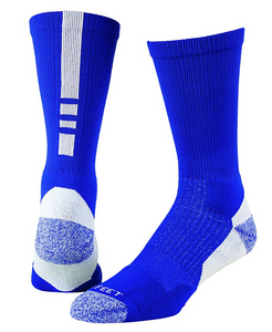 Pro Feet Shooter 2.0 Sock-Royal/White