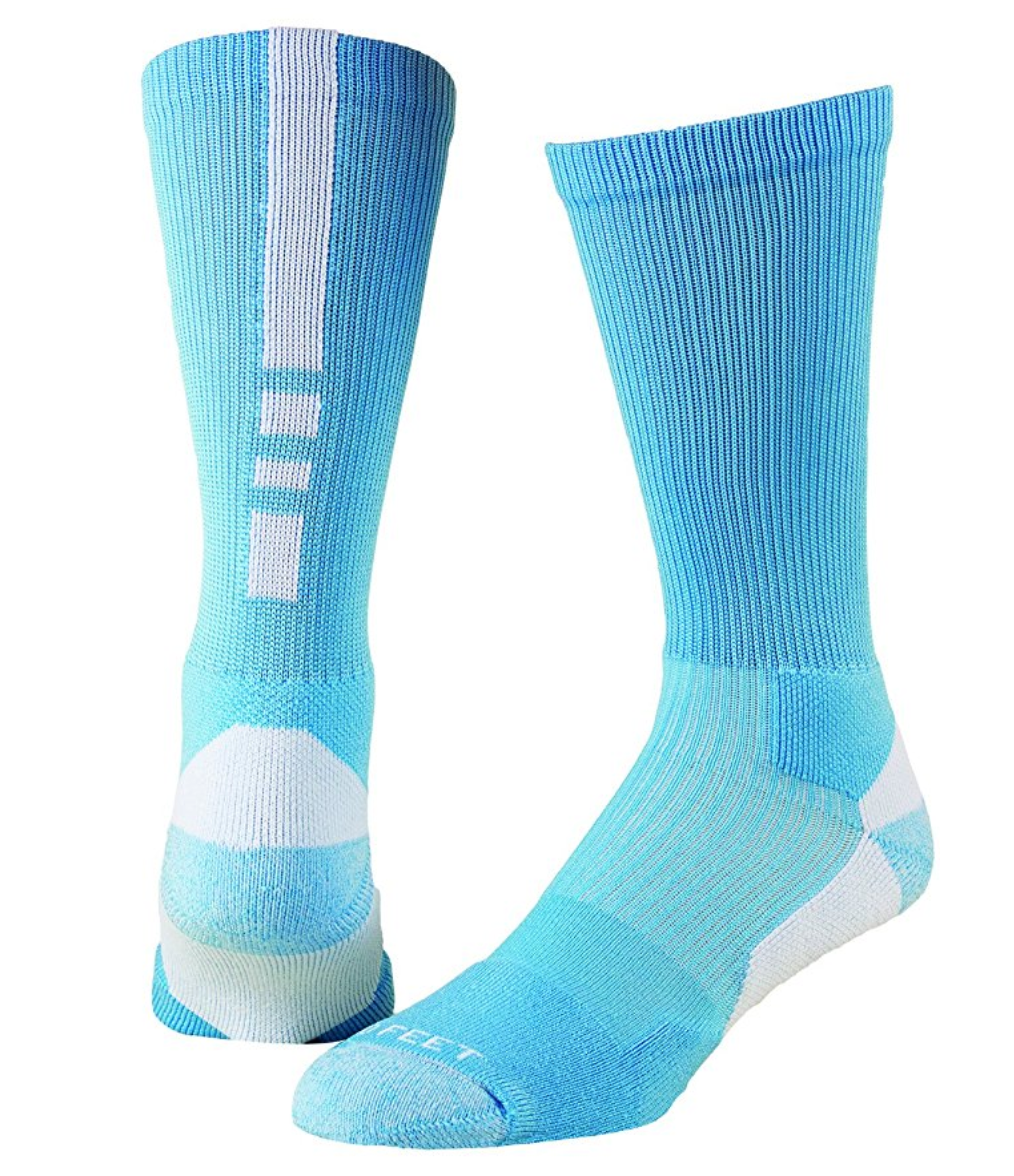 Pro Feet Shooter 2.0 Sock-Carolina blue/whi
