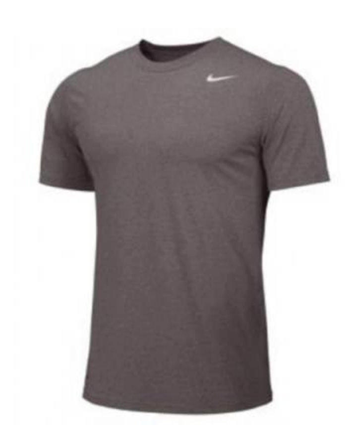Nike Youth Legend S/S Tee - Carbon Heather