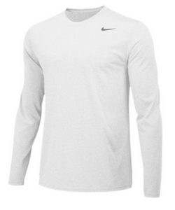 Nike Men's Legend L/S Tee- White