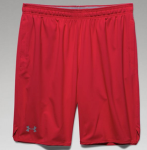 Under Armour Qualifier Woven Short -Red