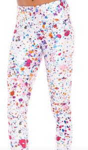Women's Dot Com Tall Band Capri Leggings