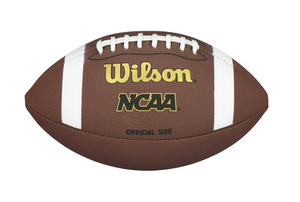 Wilson NCAA Composite Football- Official size