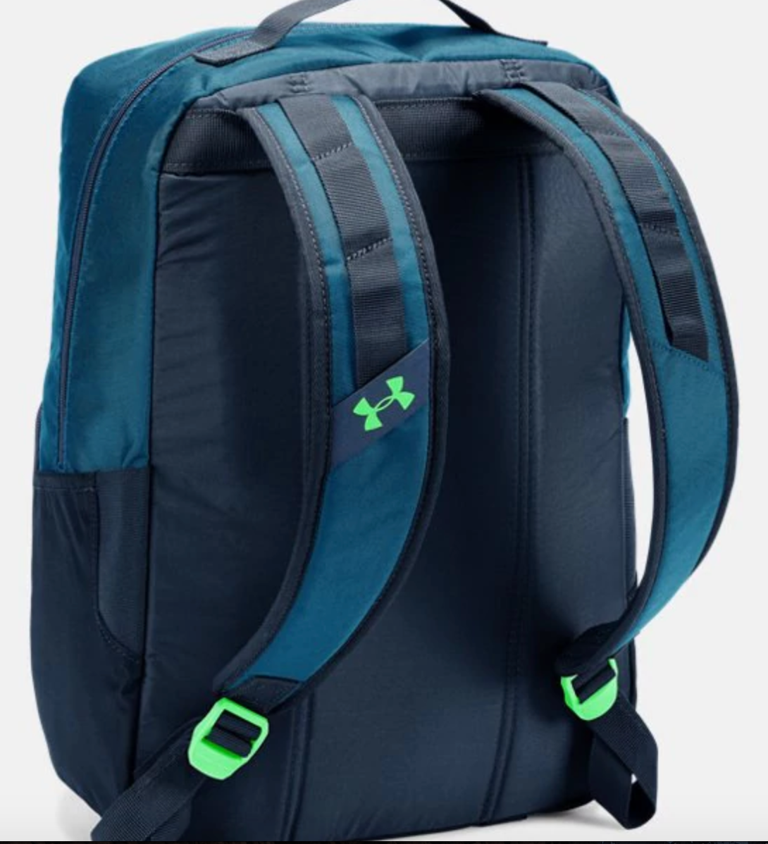 b29627f2ab93 Boys  Under Armour Armour Select Backpack- Navy Neon Green ...
