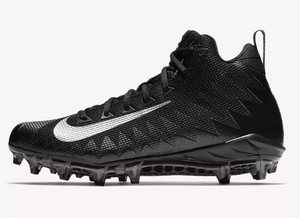 Nike Alpha Menace Pro Mid Black/Metallic Silver-Black