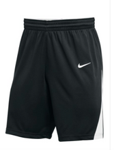 Nike Youth black/white Basketball Shorts