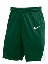 Nike Youth green/white Basketball Shorts