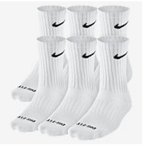 Nike Dri-Fit Cotton Cushioned Crew Sock