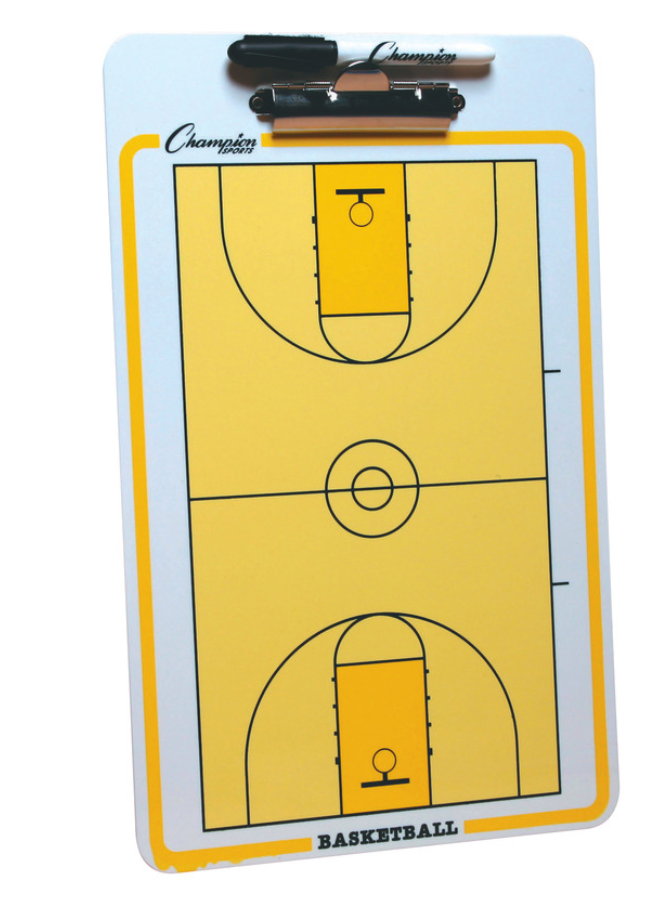 Champion Coaches Board-Basketball
