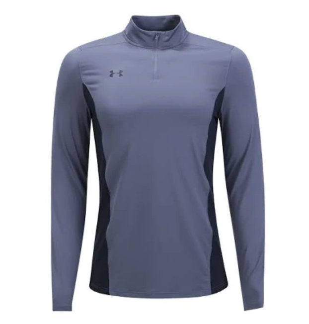 UA Challenger youth 1/4 zip gray