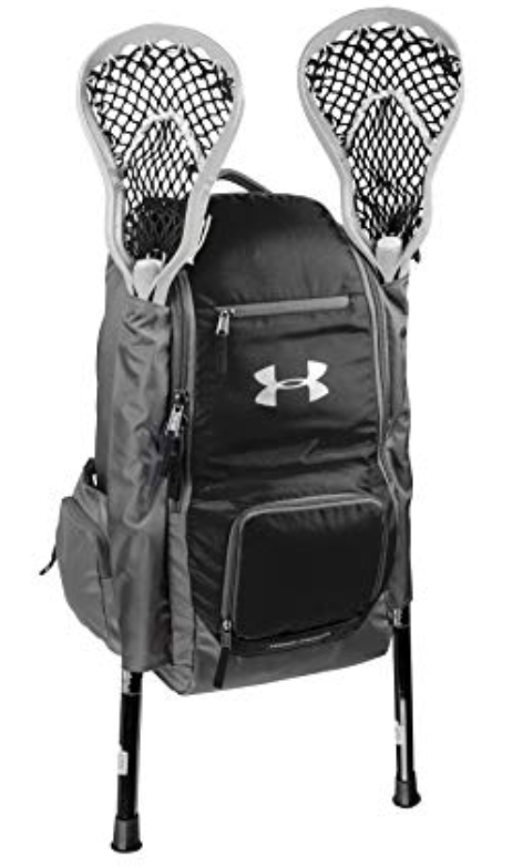 Under Armour LAX Team Backpack, grey/black