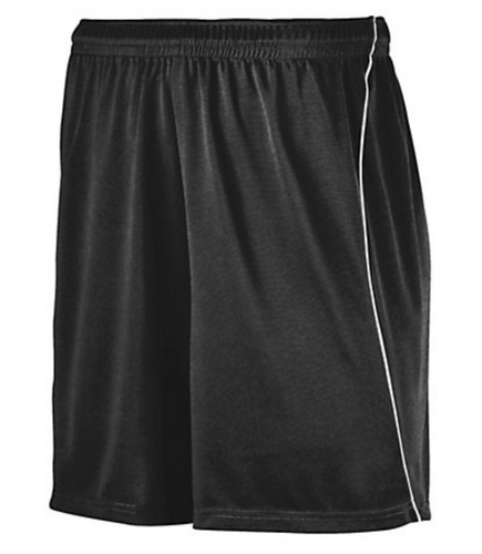 Augusta youth soccer short w/piping