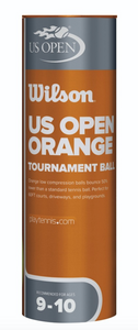 US Open Orange Tournament Transition tennis balls
