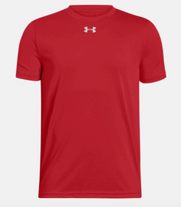 Under Armour Locker Tee 2.0 boys' s/s red