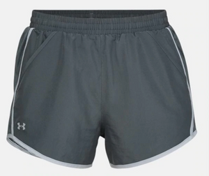 Fly By women's shorts gray